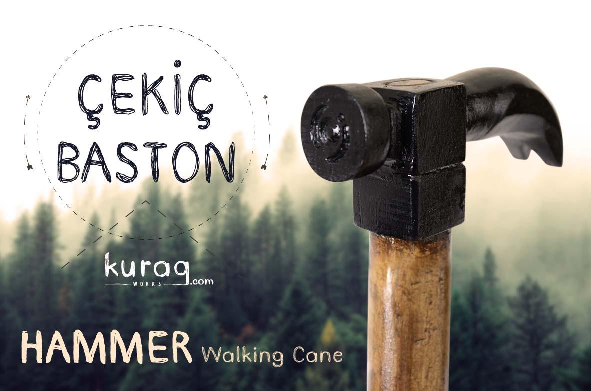 Cekic--hammer-Baston-Walking-Cane-kuraq-works