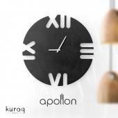Metal duvar saati: Apollon