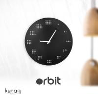 Metal duvar saati: Orbit