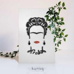 String Art: Frida Kahlo