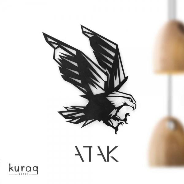 Metal poster : Atak