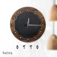Metal duvar saati: Otto