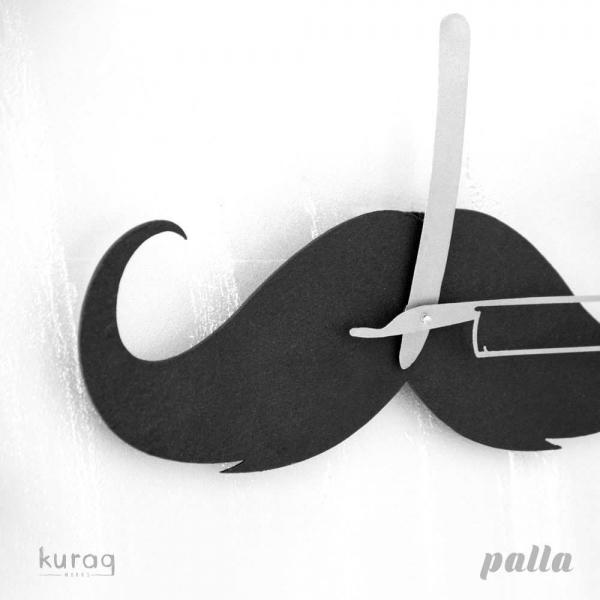 Metal duvar saati: Palla
