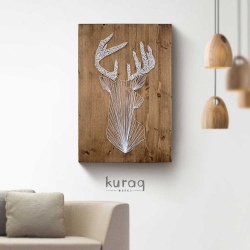 String Art: Geyik| Deer