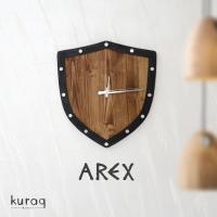 Metal - Ahşap duvar saati: ArEx