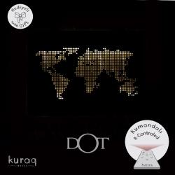 Metal poster LED : DOT