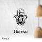 Metal poster : Hz. Fatma'nın Eli - Hamsa
