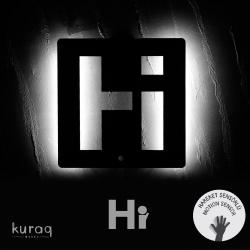 Metal poster LED : Hi