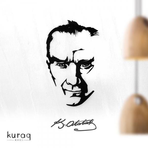 Metal poster : K.Atatürk