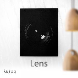 Metal poster LED : Lens