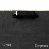 Ahşap - Metal pano : Magnote