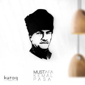 Metal poster LED : Mustafa Kemal Paşa