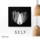 Metal poster LED : SELF