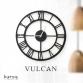 Metal duvar saati: Vulcan